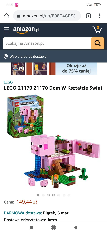 Dom w kształcie świni LEGO 21170