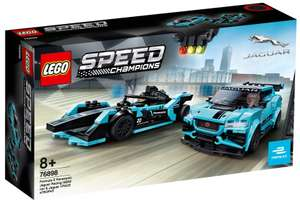 LEGO 76898 Speed Champions - Formula E Panasonic Jaguar Racing GEN2 car i Jaguar I-PACE eTROPHY