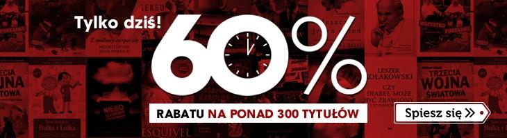 60% rabatu na ponad 300 tytułów @ Znak.com.pl