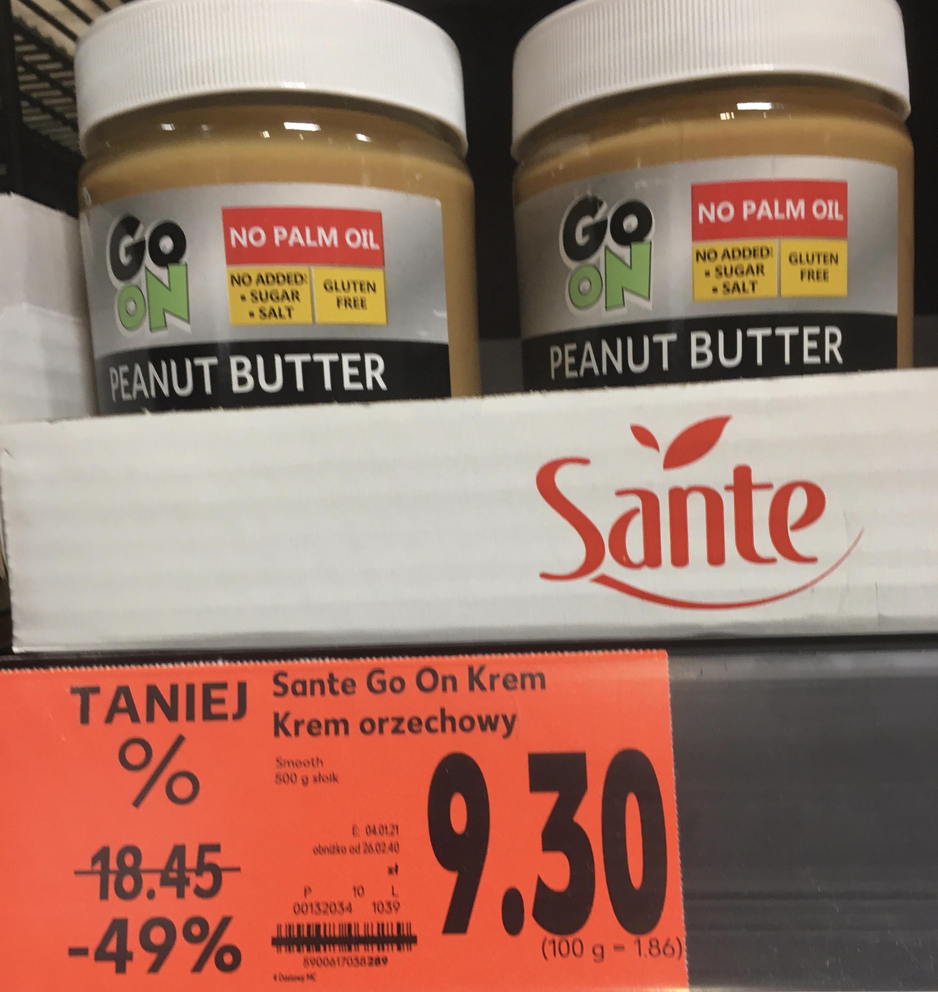 Masło orzechowe Go On 500g