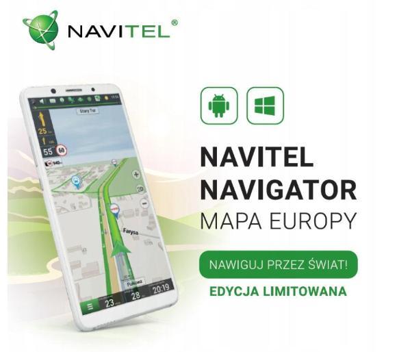 Navitel Navigator Europa - 12 miesięczna licencja na aplikację do nawigacji (Android, 44 kraje) @ Euro