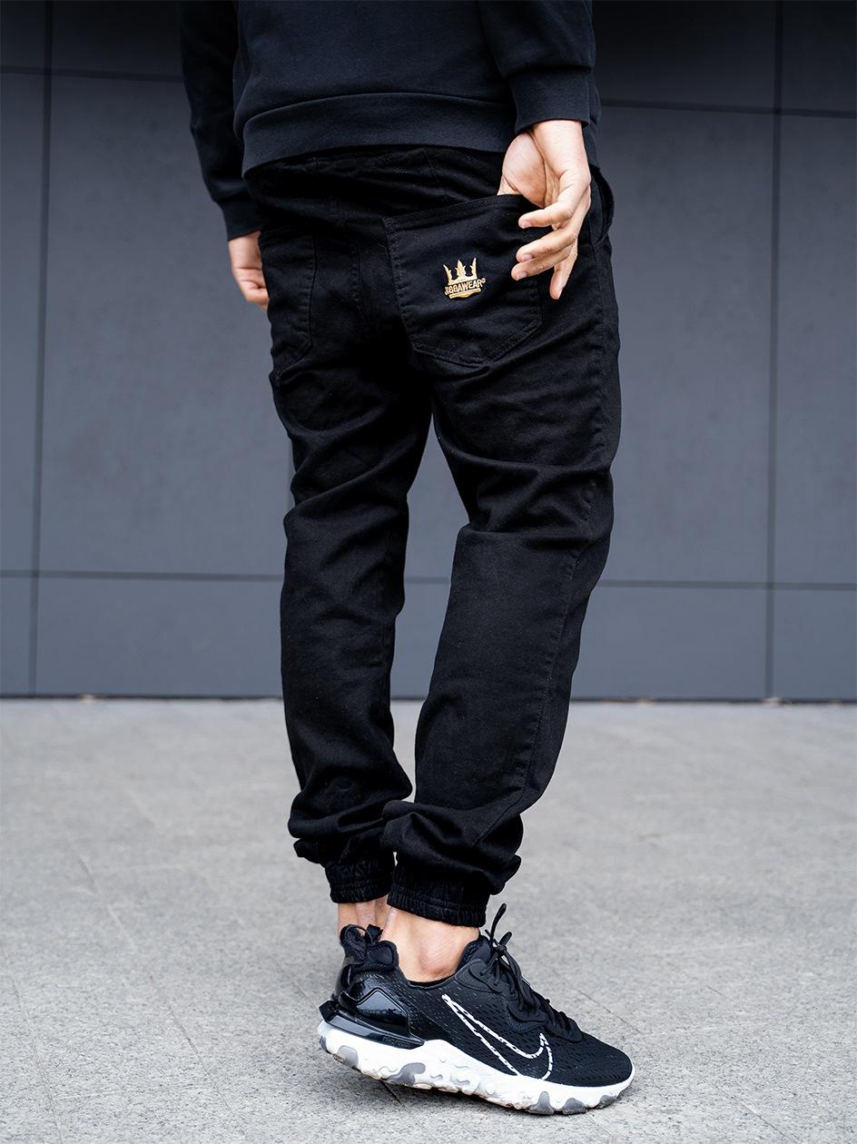 Spodnie Materiałowe Jogger Jigga Crown