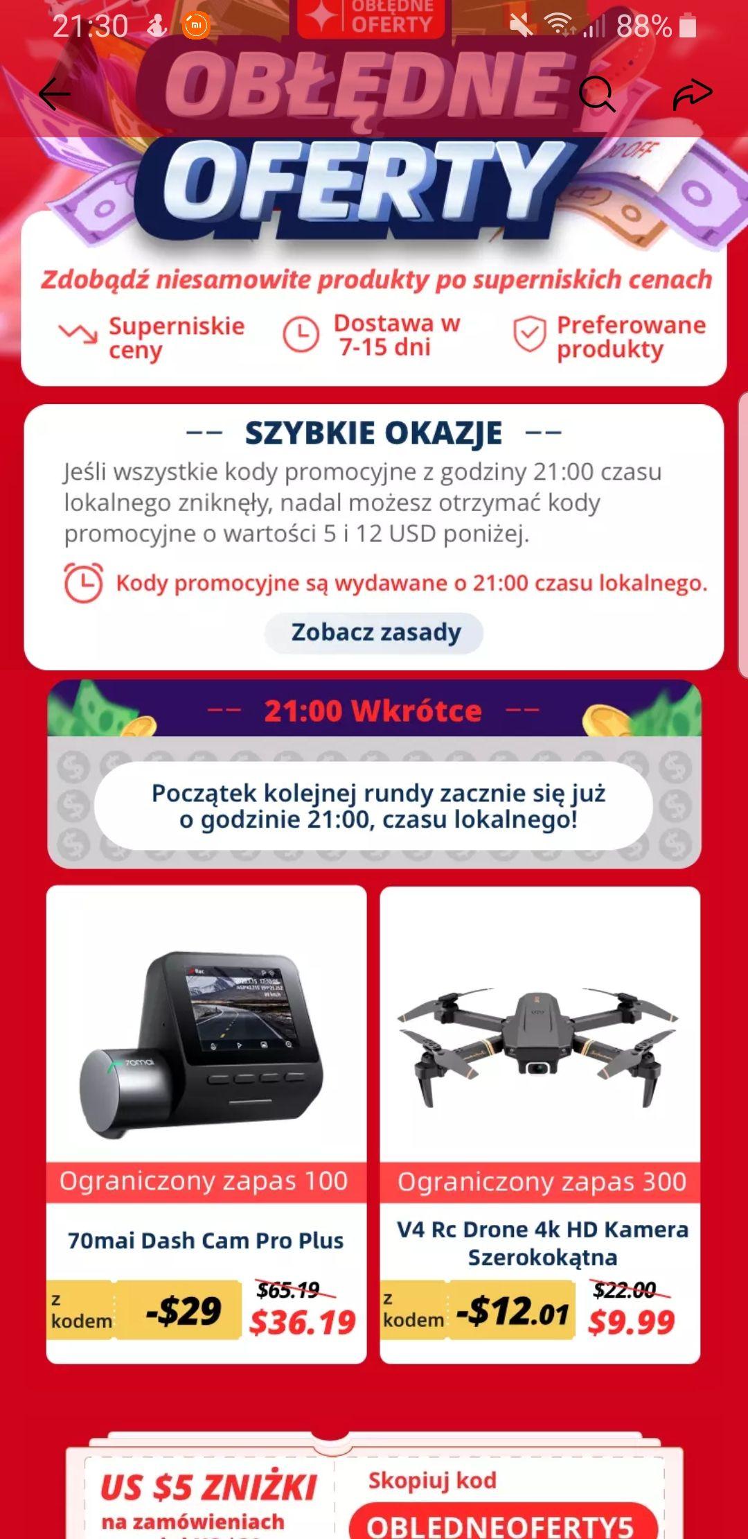 V4 Rc Dron 4k HD kamera szerokokątna ( 9.99$ )