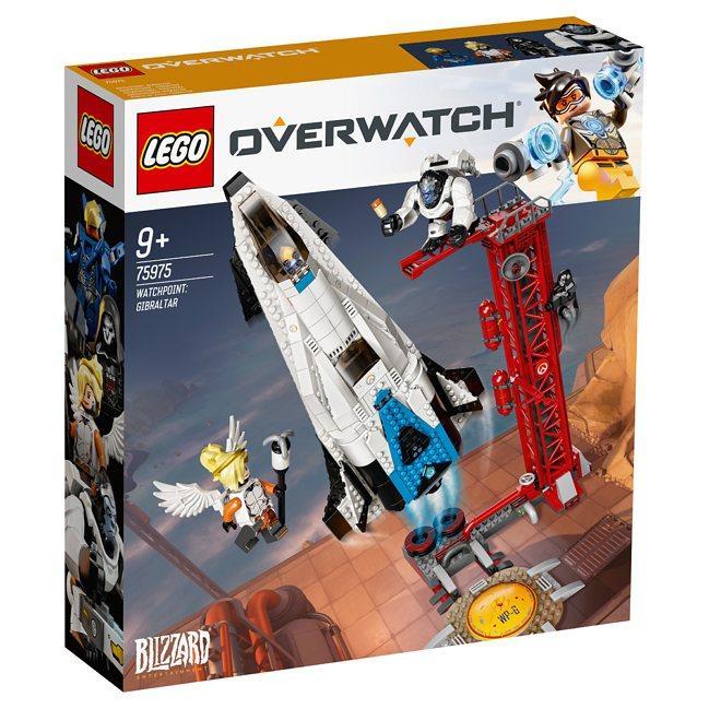 LEGO Overwatch, Posterunek: Gibraltar 75975
