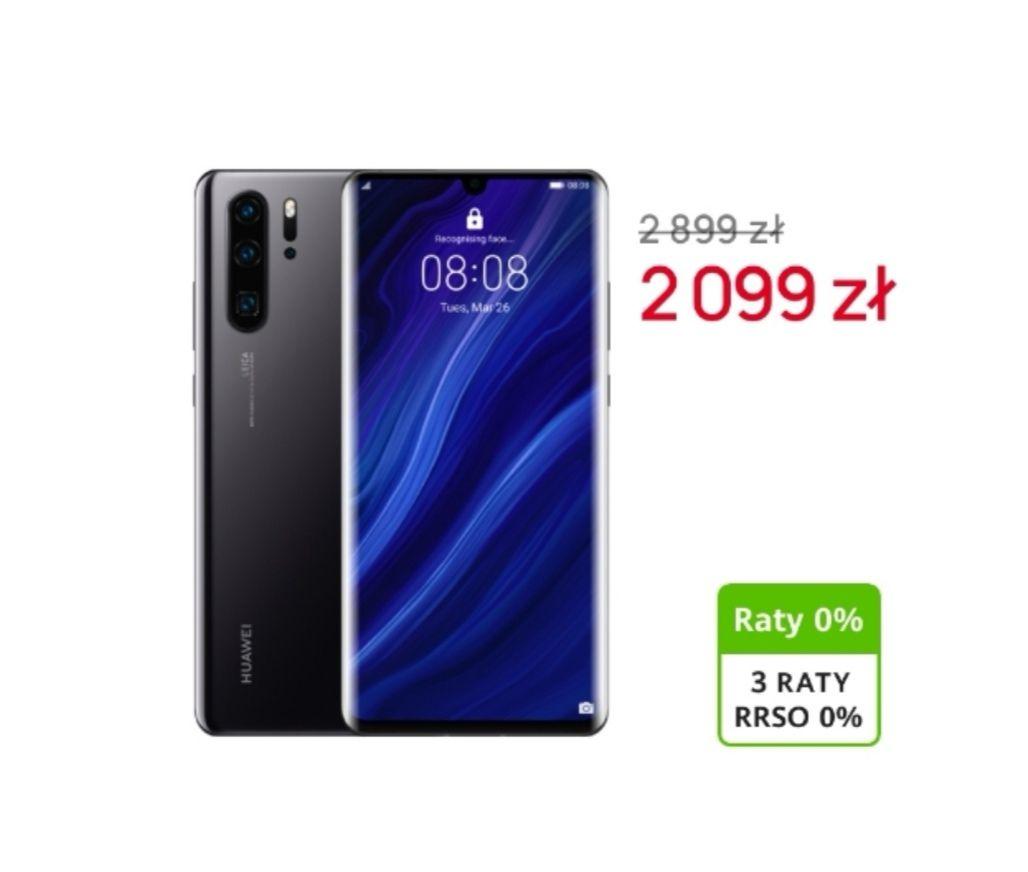 Huawei P30 Pro 6GB+128GB z kodem z aplikacji Moje Centrum lub Goodie