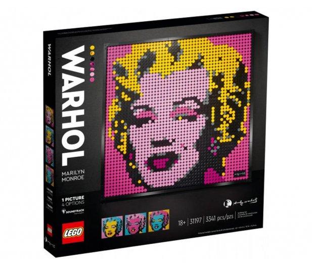 Lego 31197 Art Marilyn Monroe Andyego Warhola