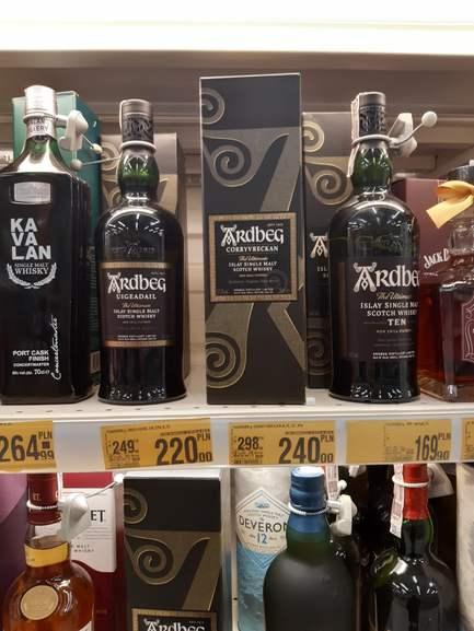 Ardbeg Uigeadail whisky 0.7