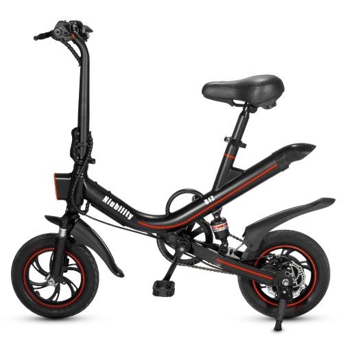 Składany rower elektryczny Niubility B12 (350 W, bateria litowa 7,8 Ah) @ Cafago
