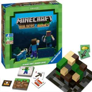 Gra planszowa Ravensburger Minecraft Builders & Biomes Game
