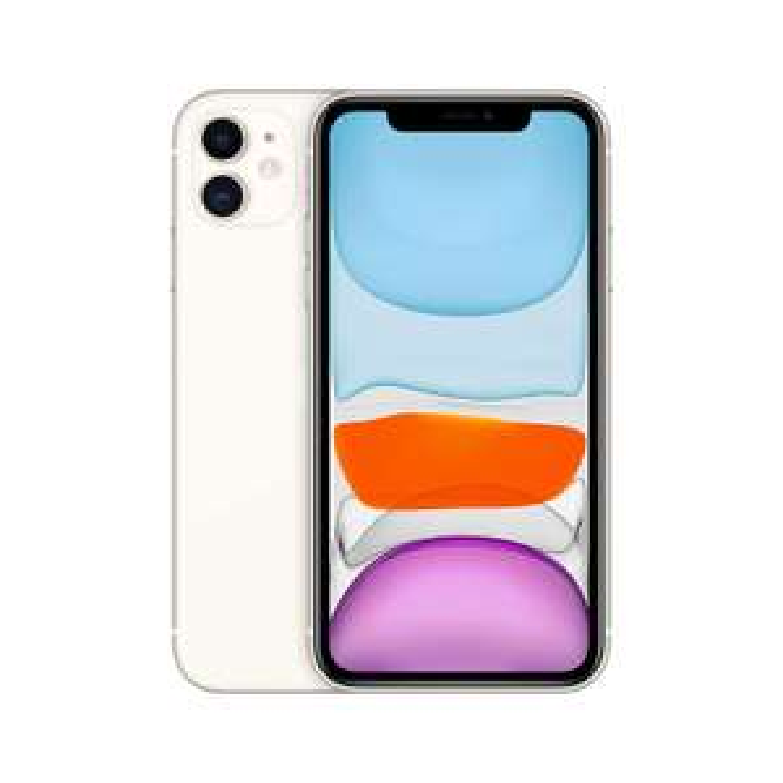 iPhone 11, 64 GB, biały | Różne kolory (outlet)