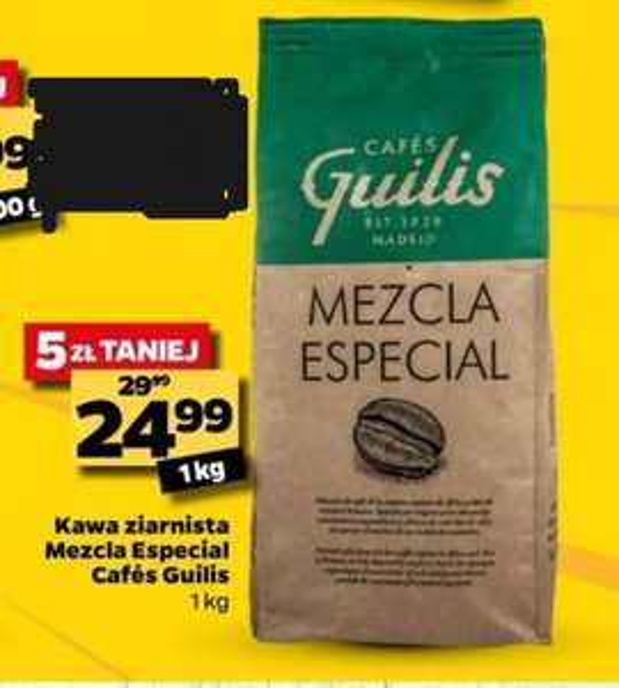 Kawa ziarnista 1kg Mezcla Especial. Netto