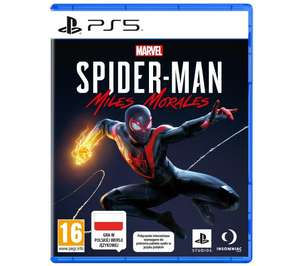 Spider-Man: Miles Morales PS5 + 4 monety