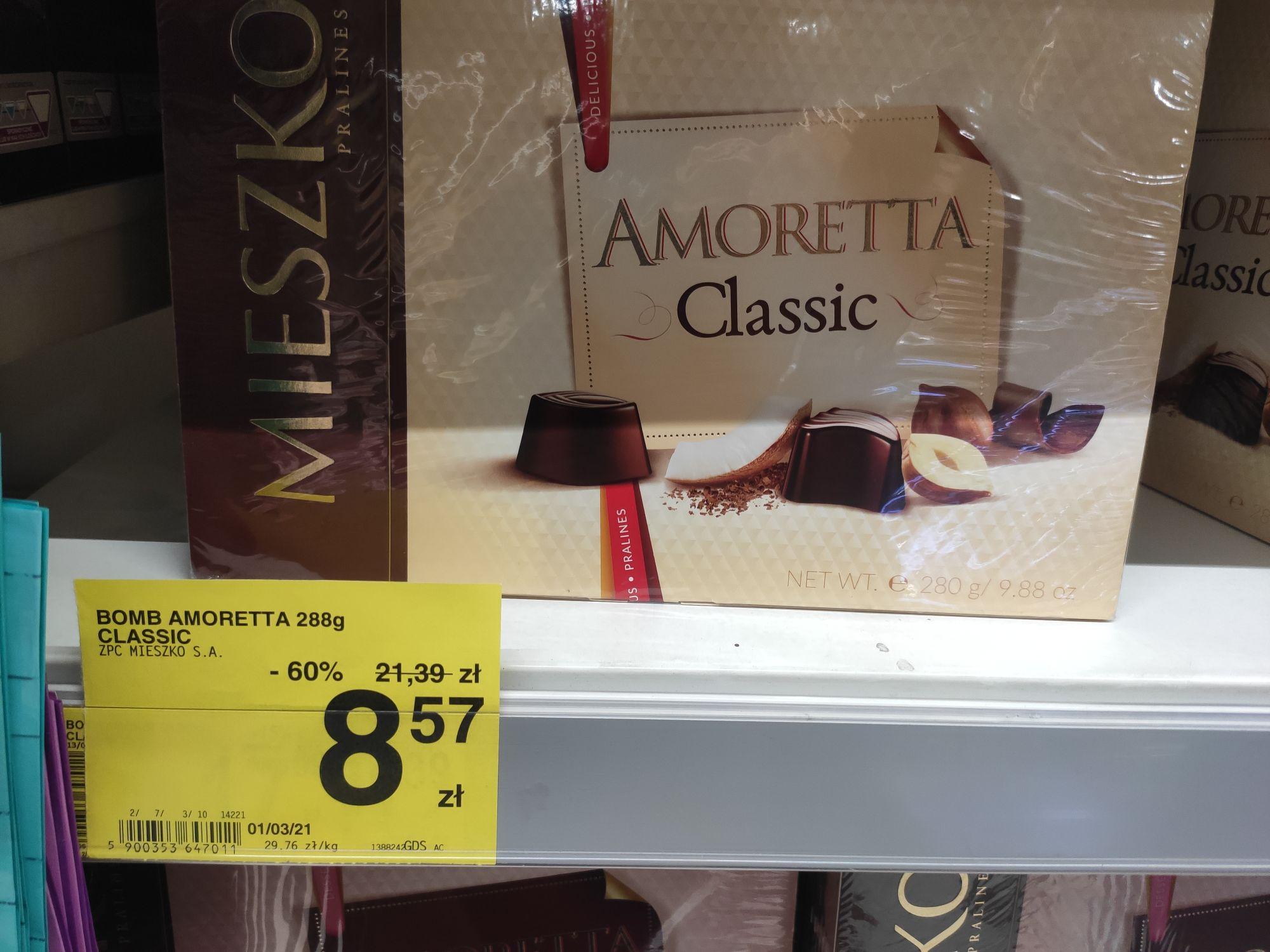 Praliny Mieszko Amoretta Classic [Carrefour Czyżyny Kraków]