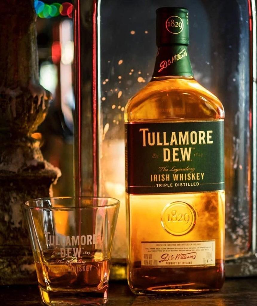 Whiskey ( Whisky) Tullamore D.E.W | 0,7L | 40% | + Szklanka. Barek Kaufland. Oferta Zbiorcza.
