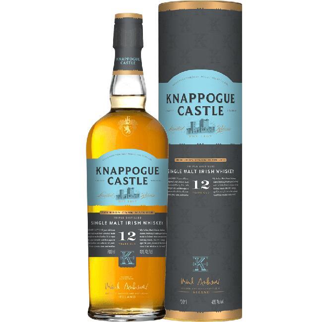 Whisky KNAPPOGUE CASTLE 12 letnia, 43% 0,7L na Kukunawa.pl