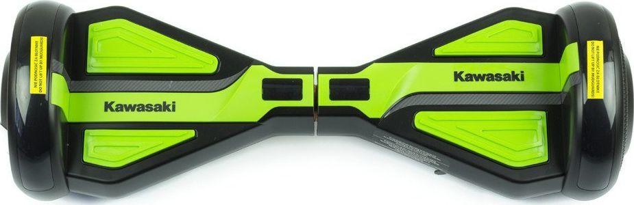 Deskorolka elektryczna Kawasaki Deskorolka Elektryczna Kx-Pro 6.5D czarno-zielona + Torba