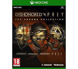 Dishonored and Prey: The Arkane Collection Xbox One (59 zł), DiRT 5 PS4 (99 zł) i LEGO Przygoda (49 zł) Xbox One w RTV Euro AGD
