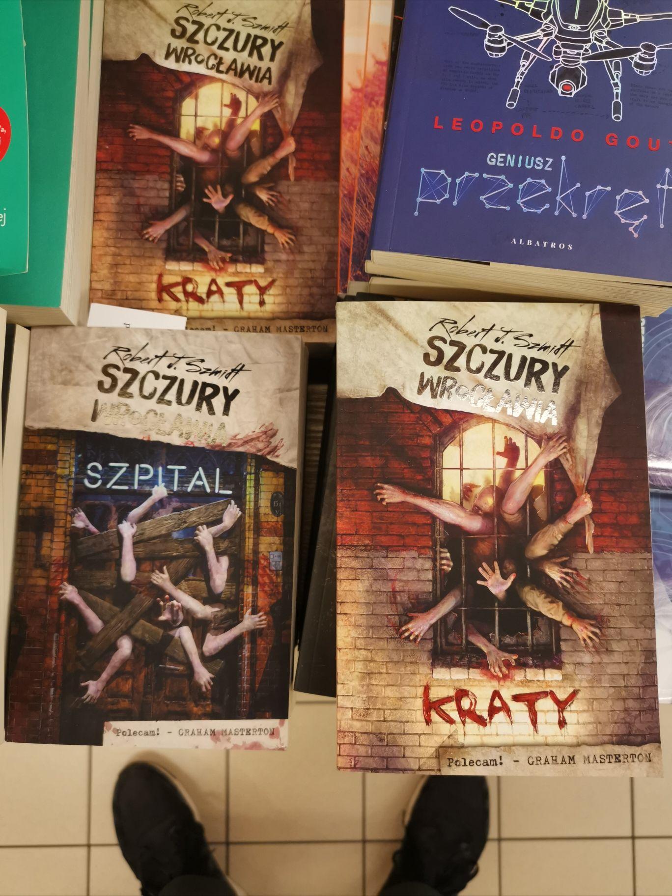 Książki Szczury Wrocławia