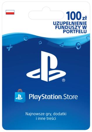 Doładowanie PSN 100 zł Sony PlayStation Network 100zł PSN