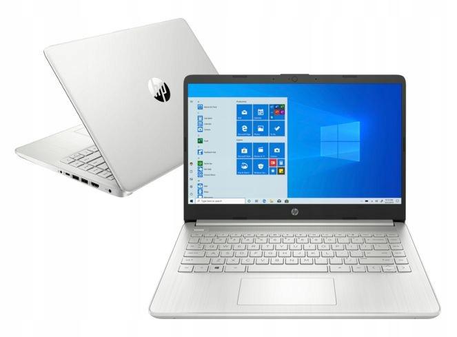 """Laptop 14"""" HP 14s-fq0023nw FHD Ryzen 3 3250U 8GB 512GB SSD Win10H"""