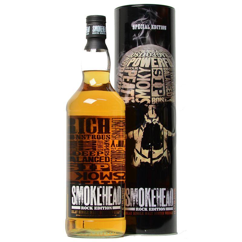 Whisky SMOKEHEAD Rock Edition 1L ISLA + inne