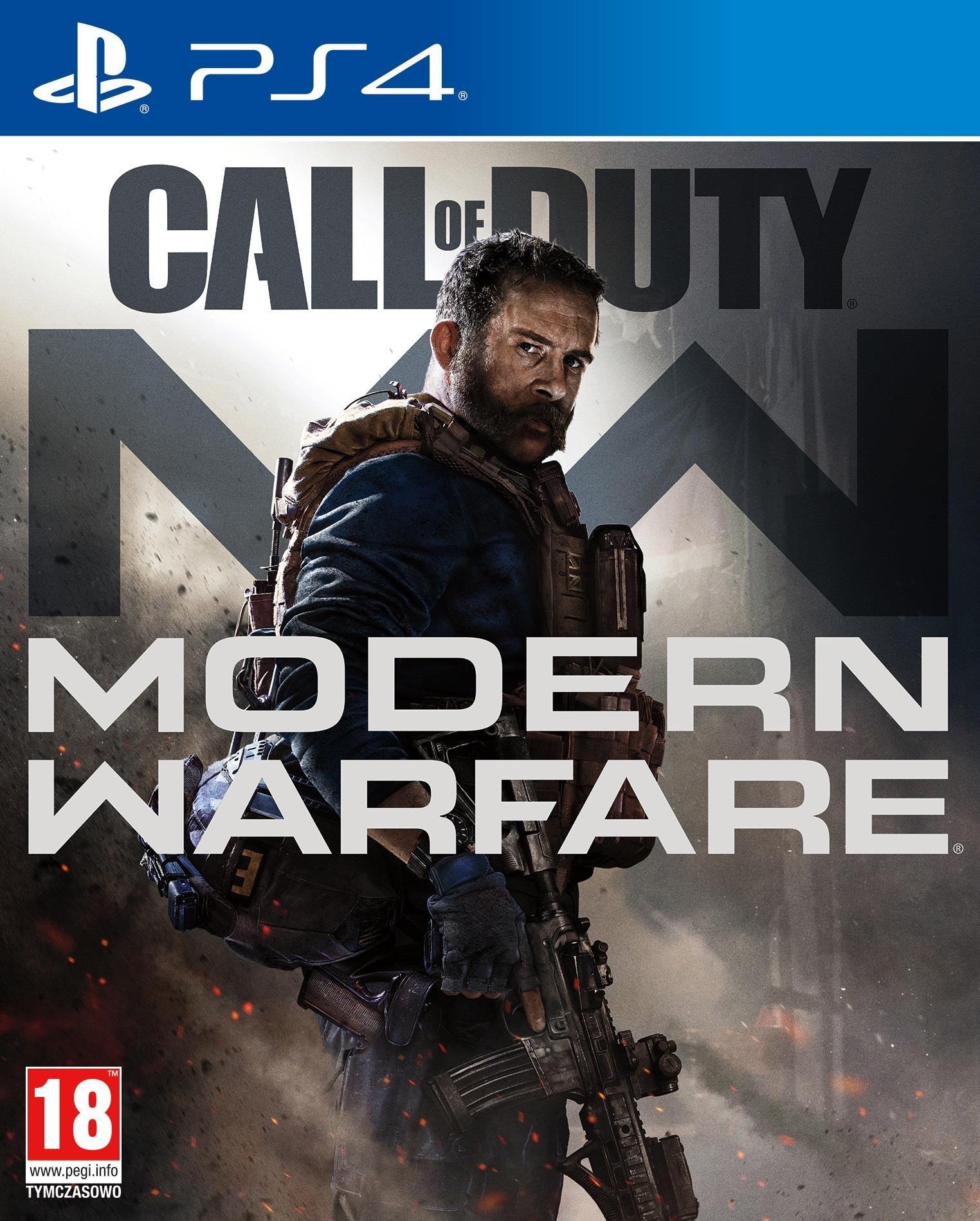 Call of duty Modern Warfare PlayStation 4 (trzeba kupić przez Ceneo)