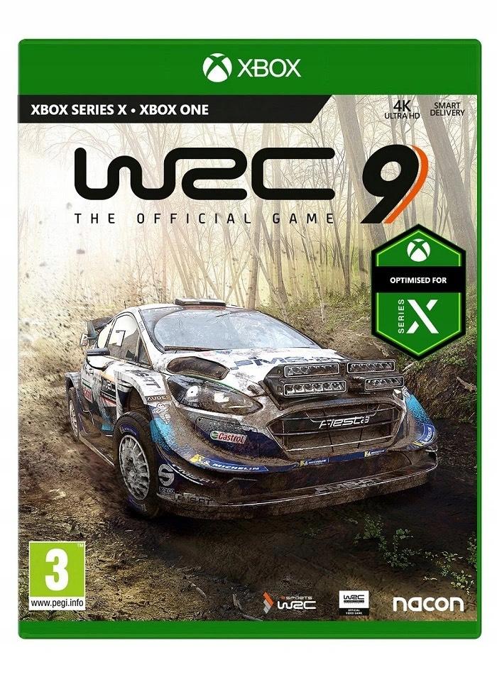 WRC 9 FIA World Rally Championship Xbox One / Xbox Series X