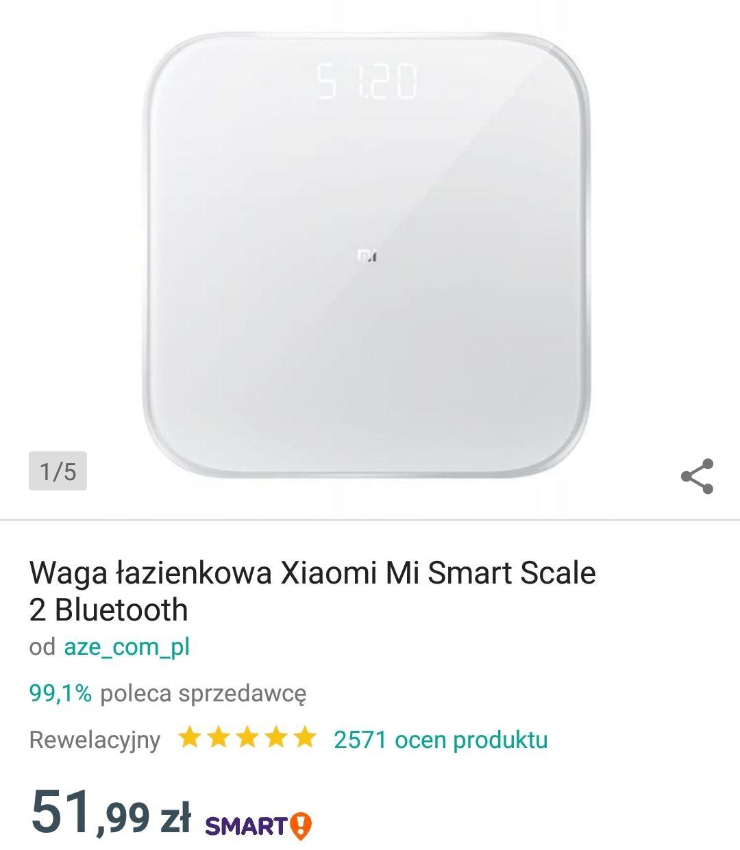 Waga łazienkowa Mi Smart Scale 2 - Xiaomi