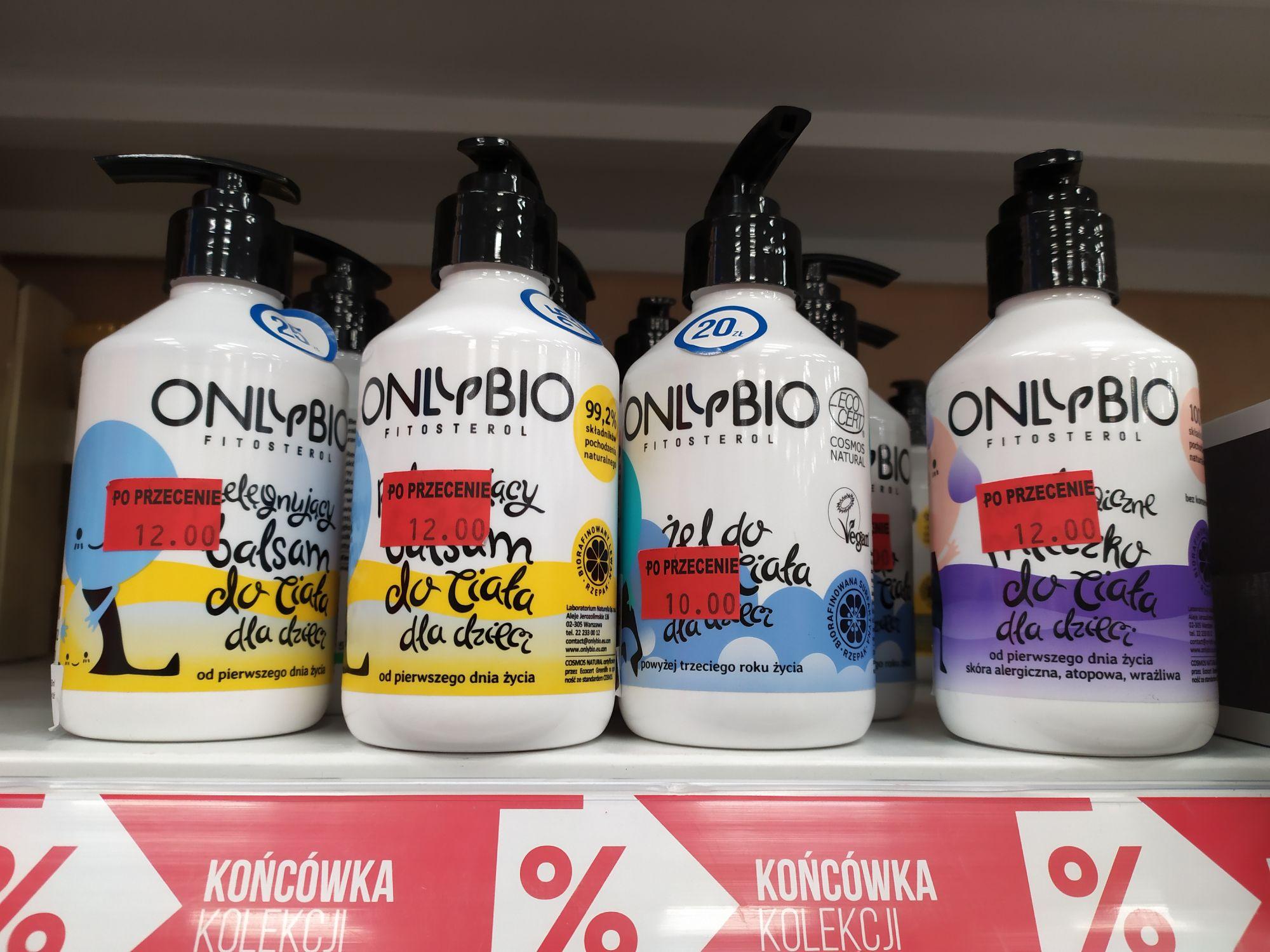 Kosmetyki Only Bio w Pepco
