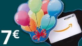 Kupon Amazon.de 7 Euro za kupno bonu podarunkowego 70 € - który można samodzielnie wykorzystać