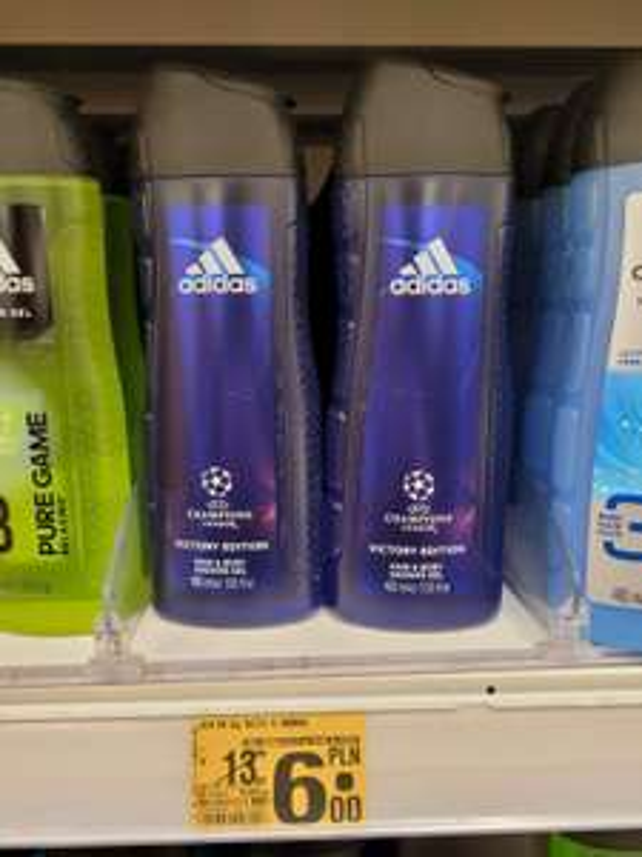 Żel pod prysznic Adidas UEFA Champions Leaugue 400 ml Auchan