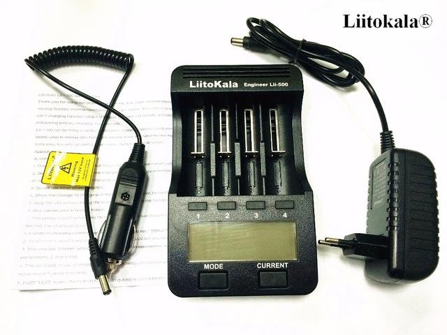 Renomowana ładowarka Lii - 500