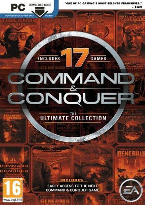 Command & Conquer The Ultimate Collection PC (klucz Origin) za 16,27 zł w CDKeys