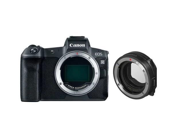 Canon EOS R + Adapter EF-> EOS R