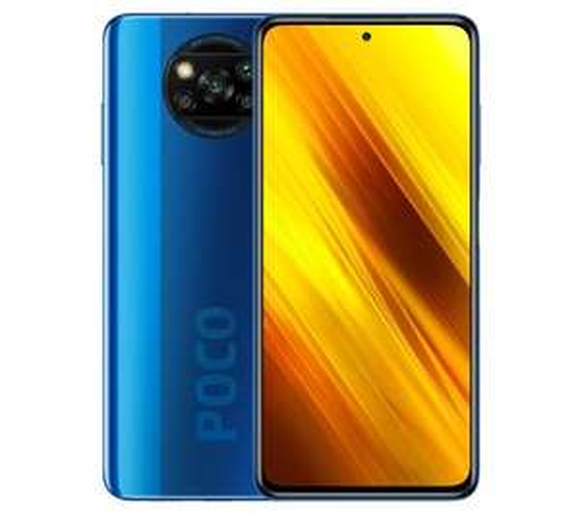 Smartfon POCOPHONE X3 NFC 6/128GB (niebieski)
