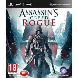 Assassins Creed Rogue na PS3 oraz XBOX 360 za 139,99 zł @ Mediaexpert
