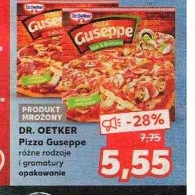 Pizza dr oetker Guseppe 5,55 zł w Kauflandzie