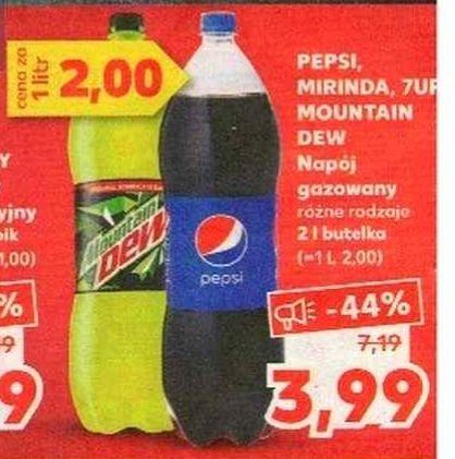 Pepsi 2l za 3,99 zł w Kauflandzie