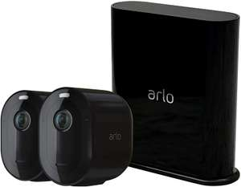 Zestaw monitoringu 2 kamer Arlo Pro 3 2K QHD (VMS4240B-100EUS) [299,98 €]