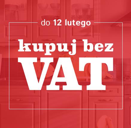 Kuchnie taniej o VAT @ Black Red White