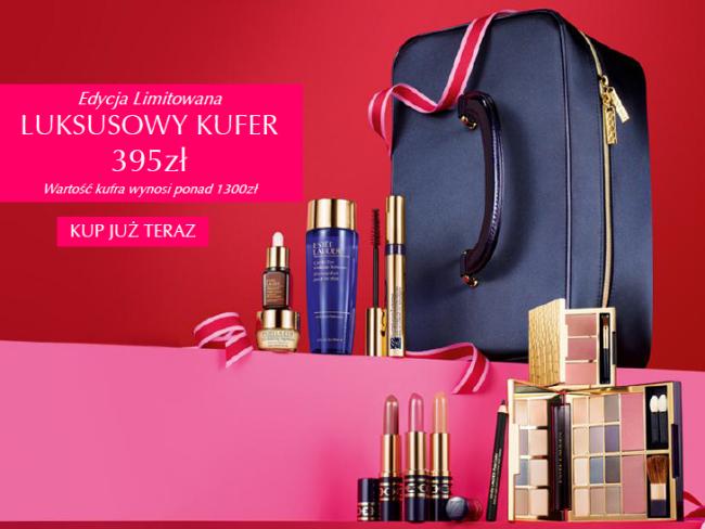 Kufer z kosmetykami o wartości ok.1300zł za 395zł!! @ Estee Lauder