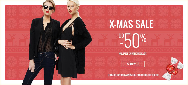 Świąteczna wyprzedaż, rabaty do 50% @ Answear.com