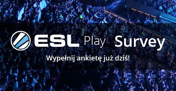 Ankieta ESL Play - voucher 5€ bez MWZ za wypełnienie