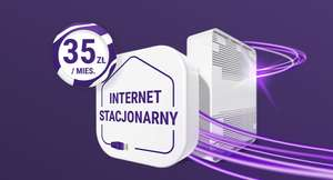 Internet stacjonarny za 35 zł w Play (do 150/15 Mb)