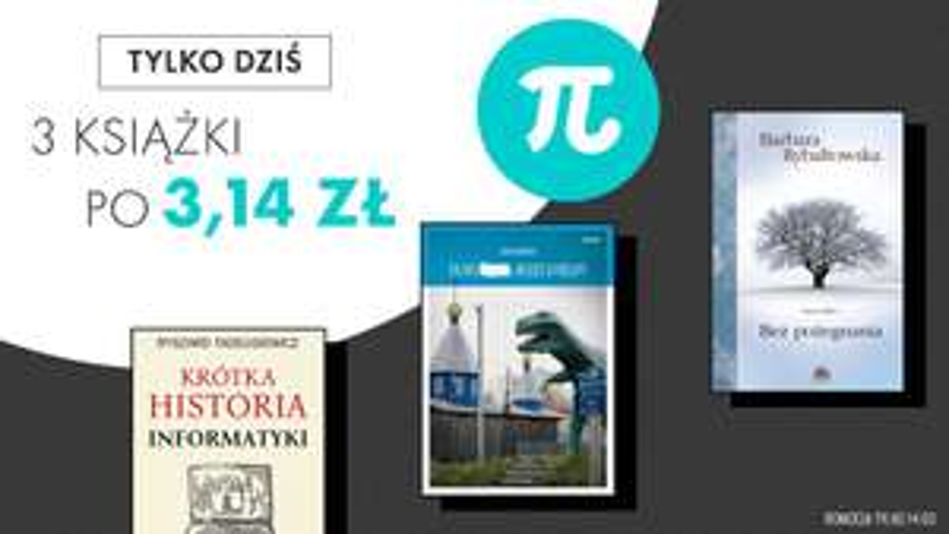 Ebooki w cenie Liczby Pi (3,14)