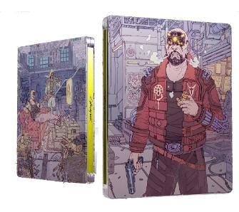 Cyberpunk 2077 Xbox One / Xbox Series X(również PS4/PS5) + Steelbook