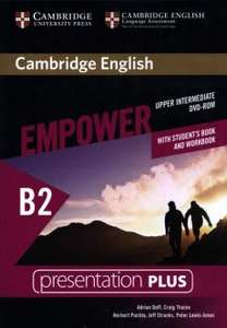 Cambridge English Empower Upper Intermediate Presentation Plus (with Student's Book and Workbook), nośnik DVD-ROM