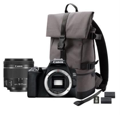 Canon eos 250d w zestawie.