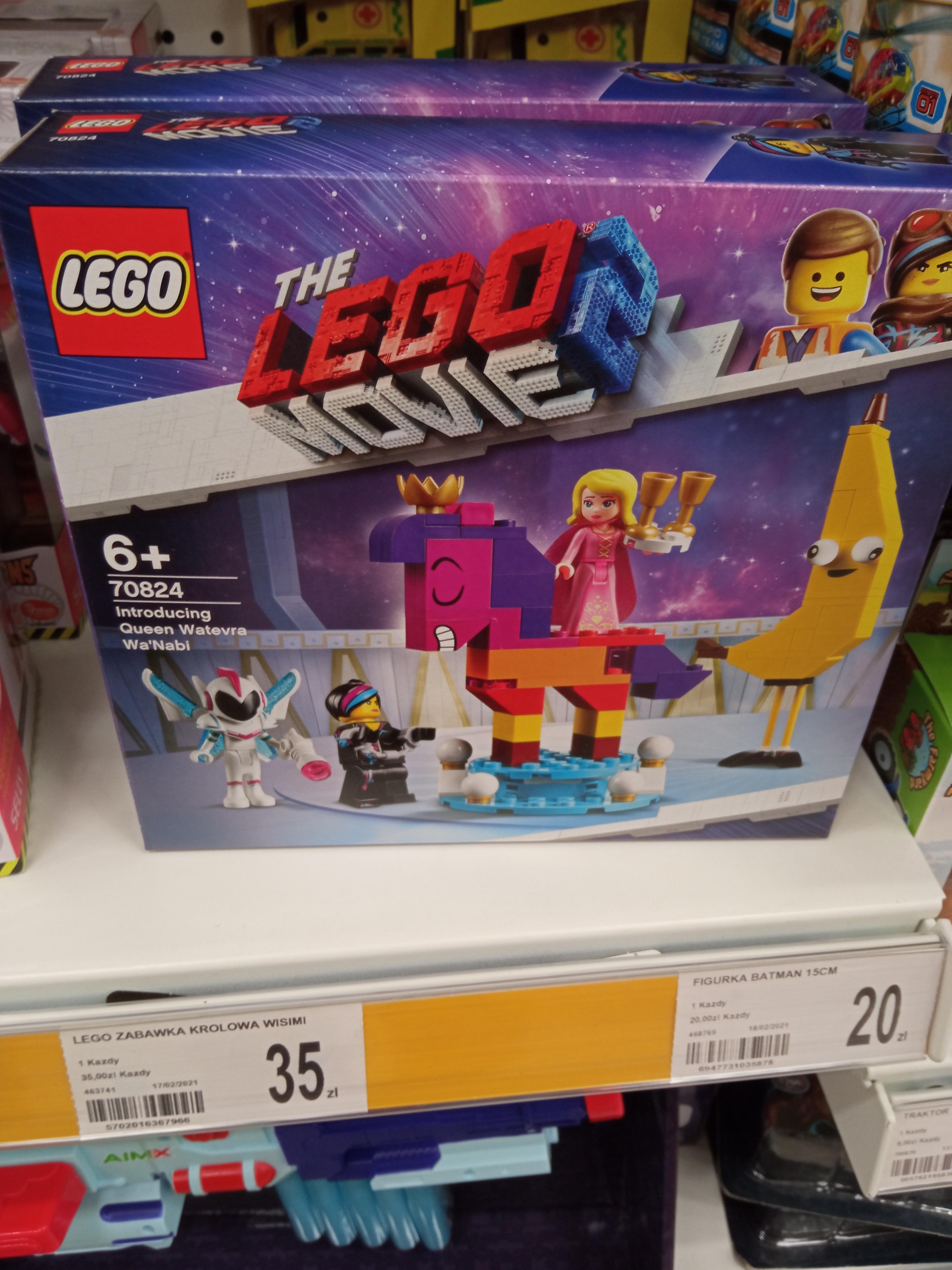 Lego Movie 2 - Królowa Wisimi I'Powiewa 70824 (Dealz, Szczecin, Mieszka 1)