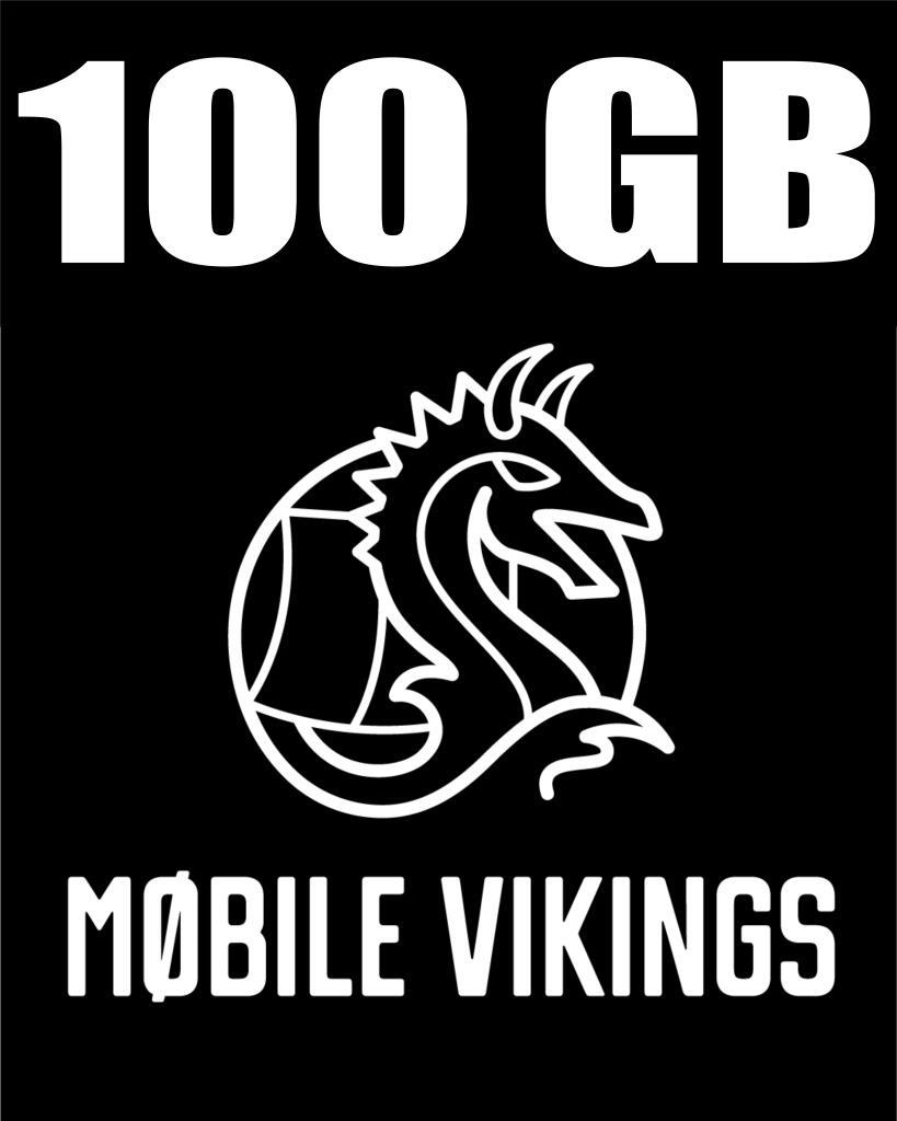 Mobile Vikings 100GB - Pokłady internetu